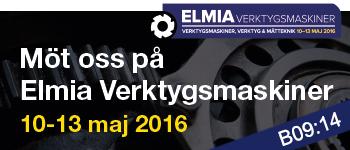 Elmia Verktygsmaskine - Registrera dig för gratis inträde